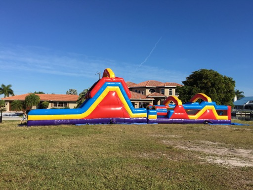Obstacle Course Rentals In Bounce House Rentals Near Me